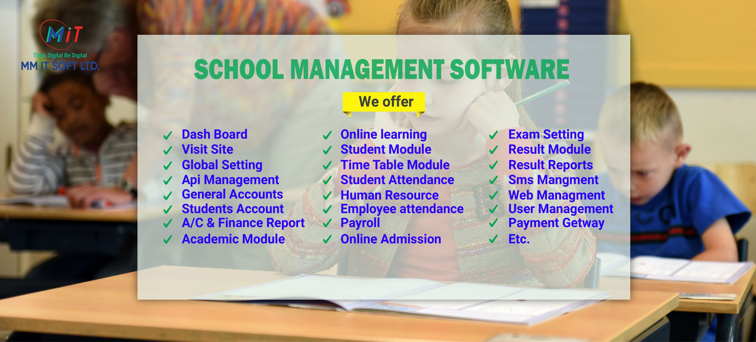 Ecampus School Management School